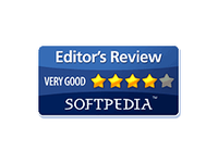 Softpedia editor's review 4 stars award