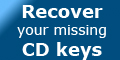 Recover Keys - Recover your missing CD keys