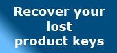 Recover Keys - Recover your lost product keys