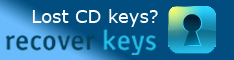Recover Keys - Lost CD keys? Recover Keys!