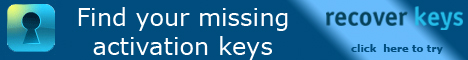 Recover Keys - Find your missing activation keys